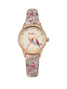 cath-kidston-british-birdsnbspoff-white-dial-grey-strap-ladies-watch