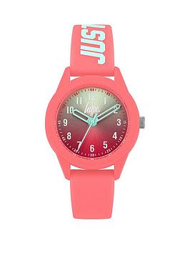 Hype Hype Hype Blue Pink Ombre Dial Pink Just Hype Printed Silicone Strap  ... Picture