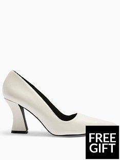 topshop-topshop-flared-heel-court-shoes-white