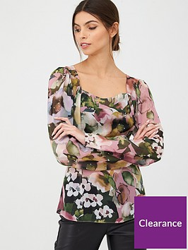 v-by-very-chiffon-square-neck-blouse-floral