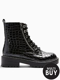 topshop-kiki-lace-up-boot-black