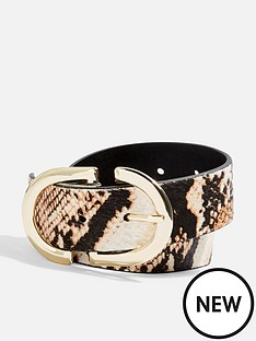topshop-snake-belt-multi