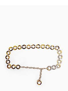 topshop-topshop-tortoiseshell-circle-chain-belt-yellow