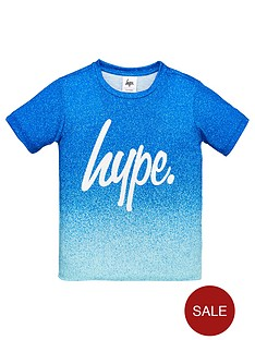 hype-boys-fade-script-t-shirt-blue