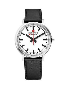 mondaine-mondaine-swiss-made-stop2go-white-sapphire-glass-dial-with-backlight-and-stainless-steel-brushed-41mm-case-dial-black-leather-strap-watch
