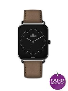 david-daper-david-daper-black-38mm-tank-dial-brown-leather-strap-watch