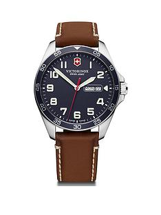 victorinox-victorinox-swiss-made-fieldforce-blue-super-luminova-sapphire-glass-42mm-daydate-dial-brown-leather-strap-watch