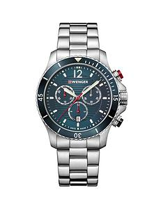 wenger-wenger-swiss-made-seaforce-200m-blue-43mm-chronograph-dial-stainless-steel-bracelet-mens-watch