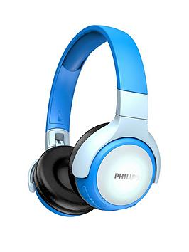 Philips Philips Kids Bluetooth Headphones With Led Colour Headband - Blue Picture