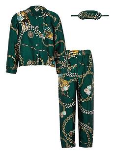 river-island-girls-satin-twinning-pyjama-set-green