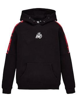 Kings Will Dream Kings Will Dream Boys Rox Red Camo Overhead Hoodie - Black Picture