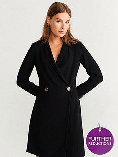 mango-button-front-tux-dress