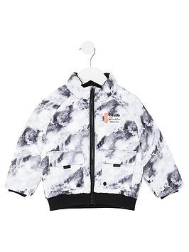 river-island-mini-mini-boys-prolific-printed-padded-jacket-grey