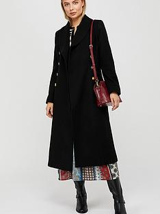 monsoon-rosalie-fit-and-flare-coat-black