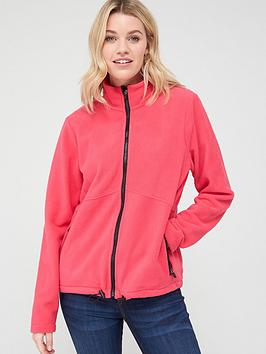 V by Very V By Very Fleece Jacket - Pink Picture