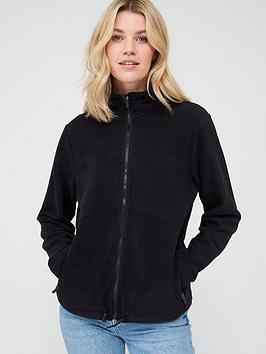 V by Very V By Very Fleece Jacket - Black Picture