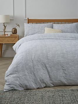 Very Wild Meadow Jacquard Duvet Cover Set Picture