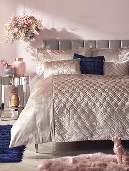 Very Esme Quilted Duvet Cover Set Picture