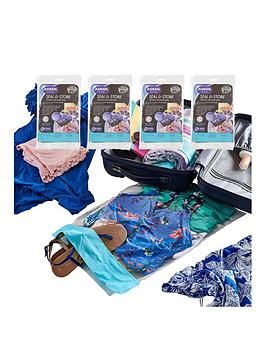 Addis   Travel Vacuum Storage Bags - Pack Of 8