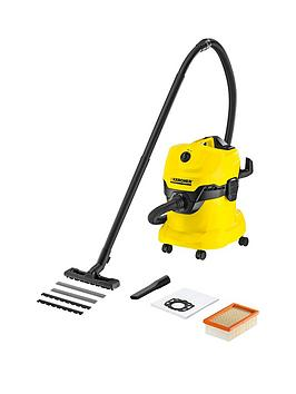 Karcher Karcher Karcher Wd 4 Wet &Amp; Dry Vacuum Cleaner Picture