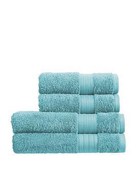 Christy Christy Monaco 4-Piece Towel Bale &Ndash; Aqua Picture