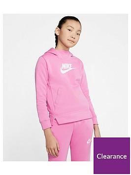nike-sportswear-older-girls-overhead-hoodie-pink