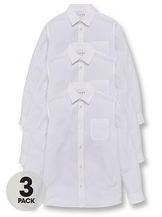 v-by-very-boys-3-pack-long-sleeve-slim-fitnbspschool-shirtsnbsp--white