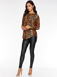 quiz-knitted-leopard-print-long-sleeve-jumper-with-back-zip-detail