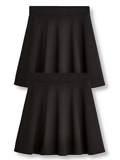 v-by-very-girls-2-pack-jersey-school-skater-skirts-black