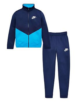 Nike Nike Sportswear Older Boys Futura Tracksuit - Navy/Blue Picture