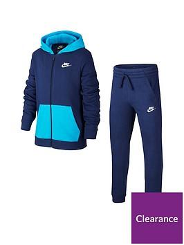 nike-sportswear-older-boys-core-tracksuit-jogger-setnbsp--navyblue