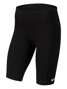 Nike Nike Older Girls Trophy Cycling Running Shorts - Black Picture