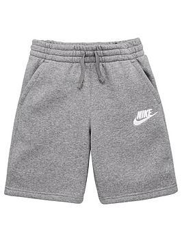Nike Nike Sportswear Older Boys Club Shorts - Grey Picture