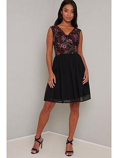 chi-chi-london-petite-tashyah-dress-black