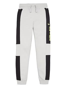 Nike Nike Sportswear Air Older Boys Joggers - Grey/White Picture