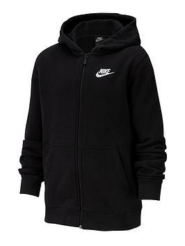 Nike Nike Nsw Older Boys Club Full Zip Hoodie - Black Picture