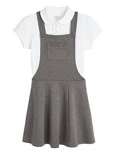 v-by-very-girls-school-jersey-polo-and-pinafore-set-grey
