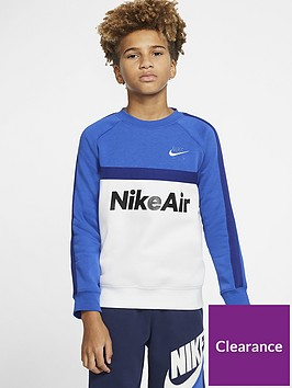 nike-sportswear-air-older-boys-crew-neck-sweatshirt-bluewhite