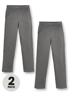 v-by-very-girls-2-pack-jersey-school-trousers-grey