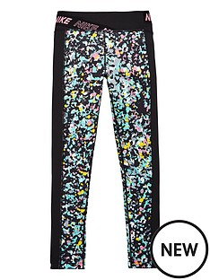 nike-older-girls-one-printed-training-leggings-black