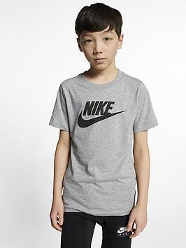 Nike Nike Nike Sportswear Older Boys Futura Icon T-Shirt Picture