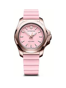 victorinox-victorinox-swiss-made-inox-v-pink-200m-sapphire-glass-dial-rose-gold-stainless-steel-37mm-case-removable-protective-shield-pink-rubber-strap-watch