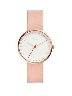 fossil-fossil-white-dial-tortoise-shell-case-pink-leather-strap-ladies-watch