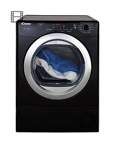 candy-grando-vita-gvs-c9dcgb-9kg-load-condenser-sensor-tumble-dryer-with-smart-touch-blackchrome
