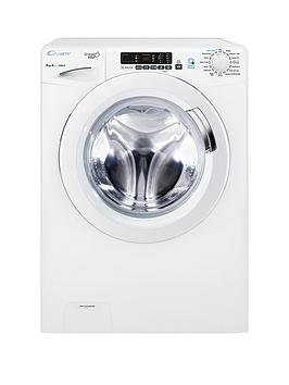 Candy   Grand'O Vita Gvs128D3 8Kg Load, 1200 Spin Washing Machine With Smart Touch - White