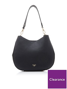 dune-london-demillie-large-slim-slouch-bag-black