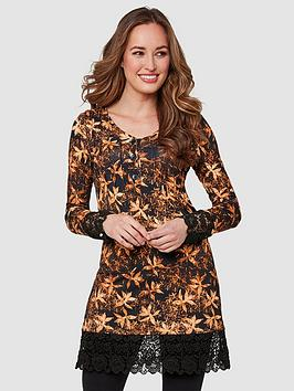 Joe Browns Joe Browns Glistening Leaves Tunic - Print Picture