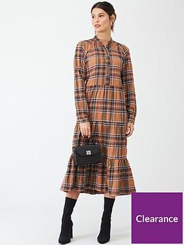 v-by-very-check-shirt-midi-dress-check