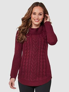 joe-browns-cosy-collar-jumper-burgundy