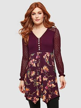 Joe Browns Joe Browns Lovely Lacy Tunic - Print Picture